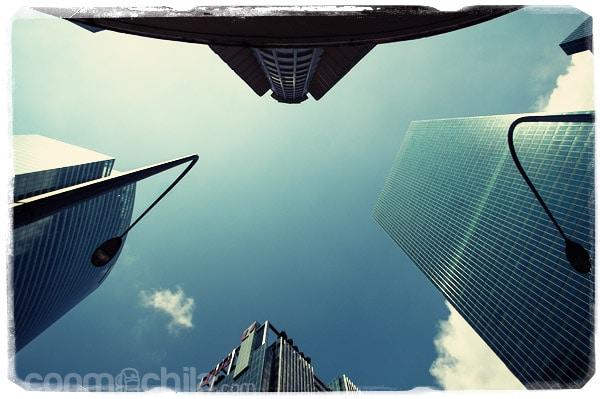 Los poderosos rascacielos