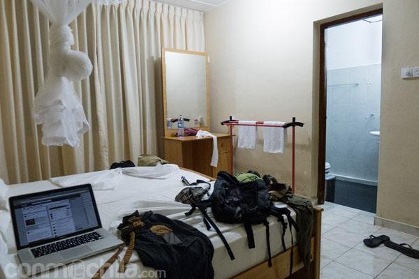 Nuestra grande y bonita habitación