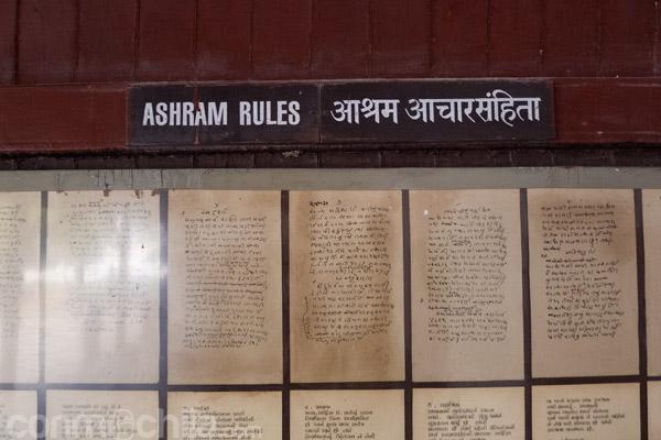 Reglas del Ashram