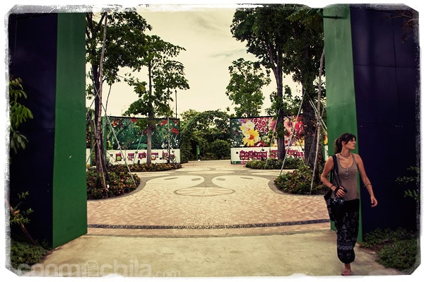 La zona del Heritage Garden