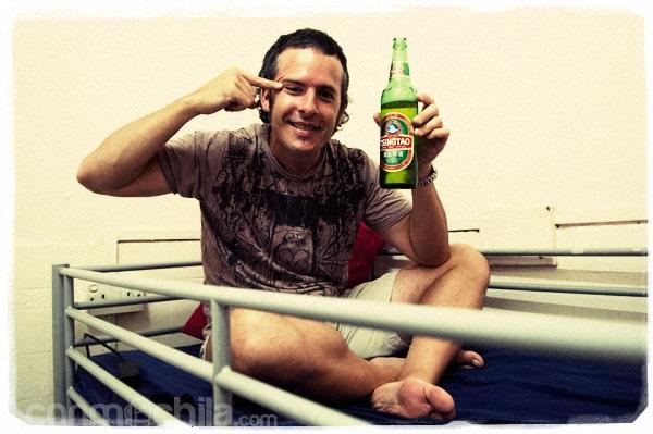 Toni y sus cervezas...