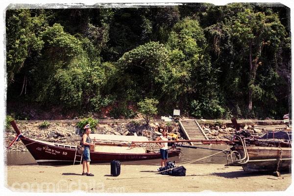La barca que cogimos