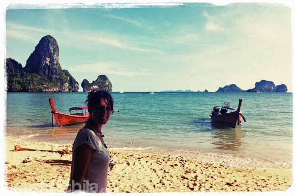 La playa de Krabi