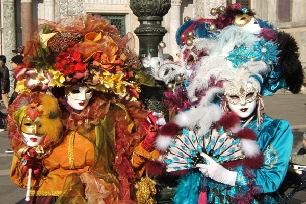 Las famosas máscaras venecianas