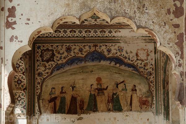 Otro detalle de las pinturas