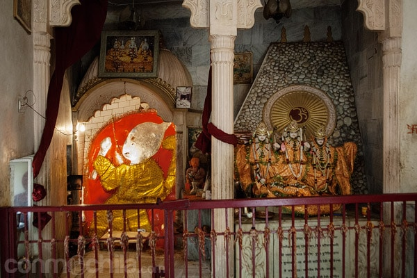 Interior del templo superior
