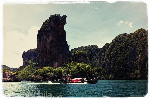 Las vistas desde la barca