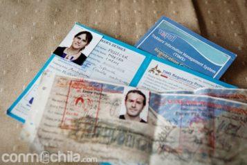 La tarjeta TIMS y el permiso
