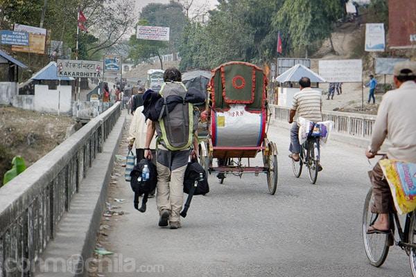 Llegada a Kakarbhitta