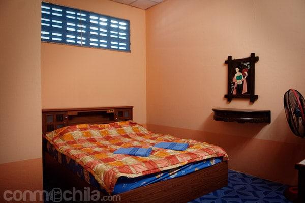 Una imagen de las limpias habitaciones