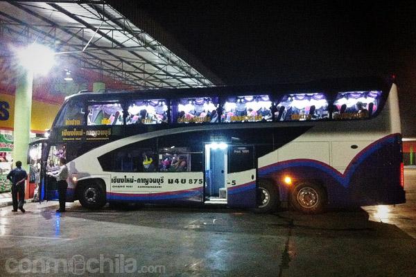 El autobús que hace la ruta