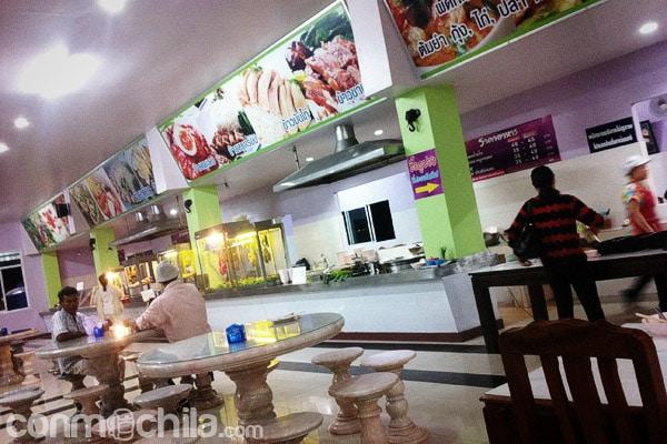 Restaurante donde se para a comer