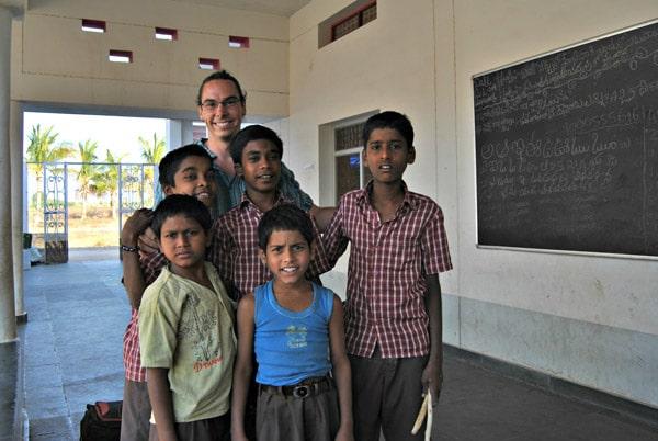 Itinerario de viaje a India: En la fundación Vicente Ferrer en Anantapur