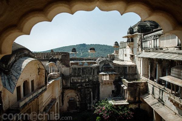 Vista de esta zona del palacio