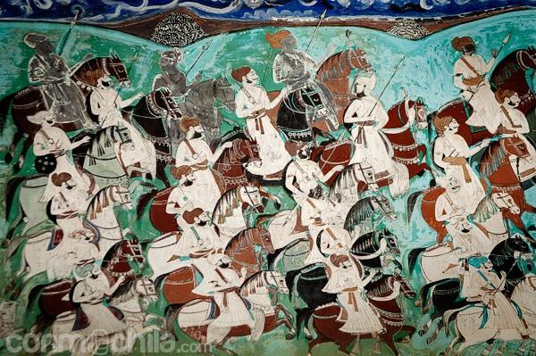 Pinturas en las paredes