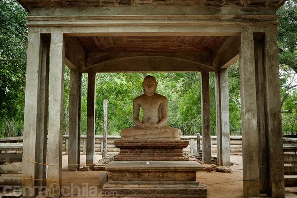 La estatua Samadhi