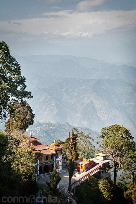 El Bhutia Busty Monastery