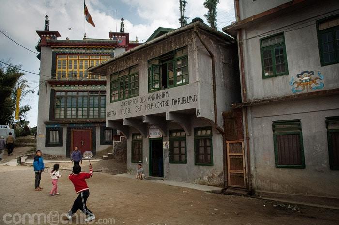 Centro de refugiados tibetanos