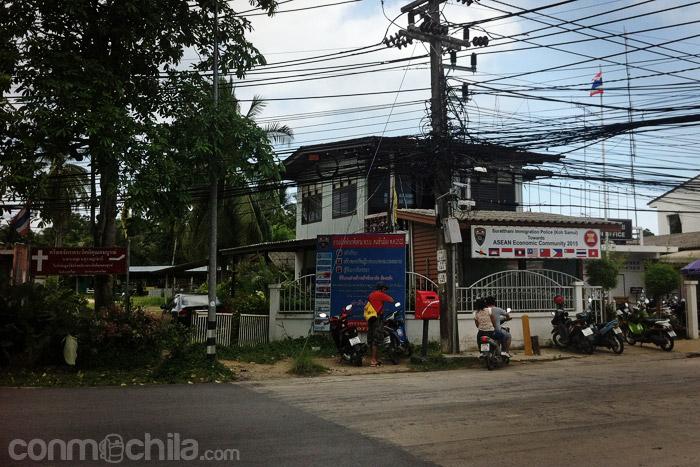Oficina de inmigración de Koh Samui