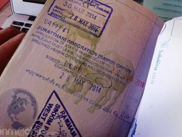 Cómo hacer la extensión del visado de Tailandia en Koh Samui