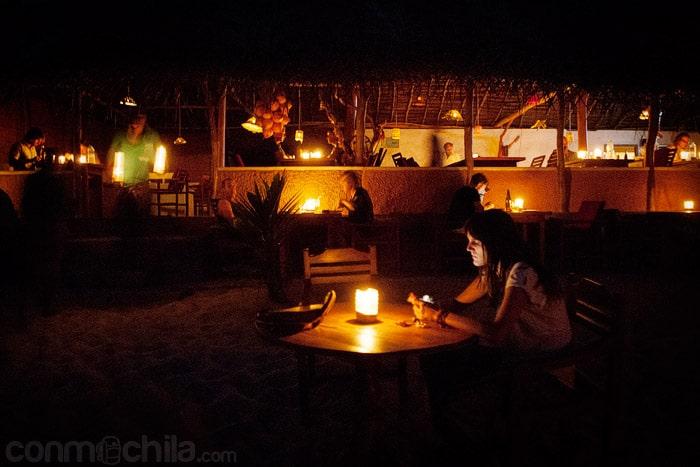 La cena a la luz de las velas