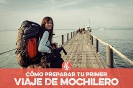PRIMER VIAJE DE MOCHILERO