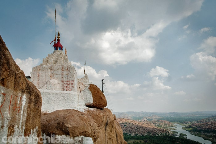 El templo de Hanuman