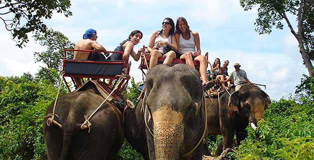 Turistadas clásicas en Tailandia