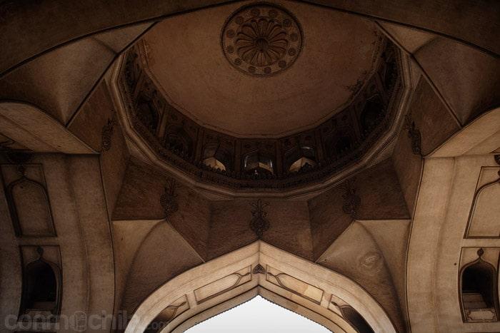 Detalle de la cúpula interior