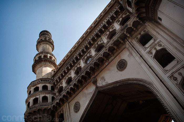 Otra vista con el minarete