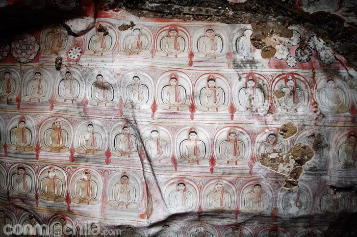 Detalle de los murales