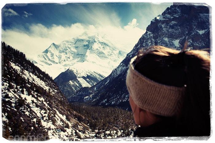 Impresionante el Annapurna II (con la cara picassiana, eh?)