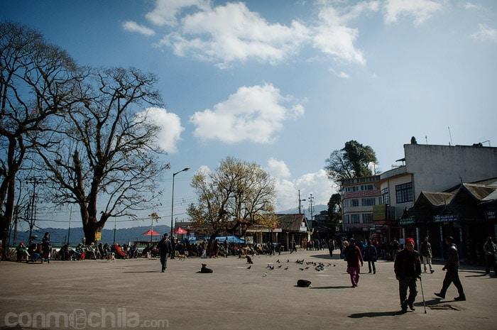 La plaza Chowrasta