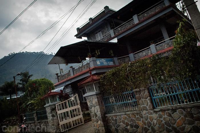 Fachada del Hotel Trek and Climb