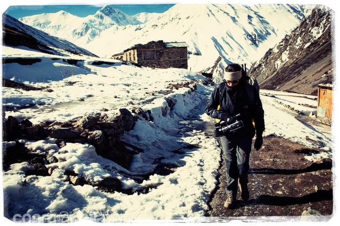 Saliendo de Churi Ledar, empieza la siguiente etapa