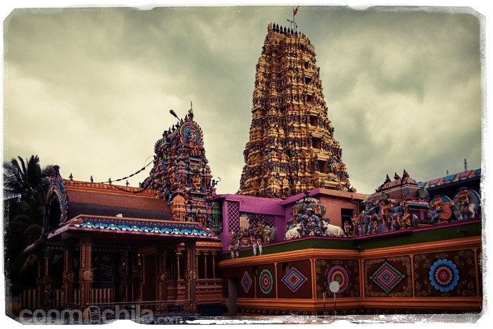 El templo hindú de Mantale