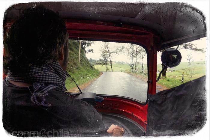 Conduciendo nuestro tuktuk