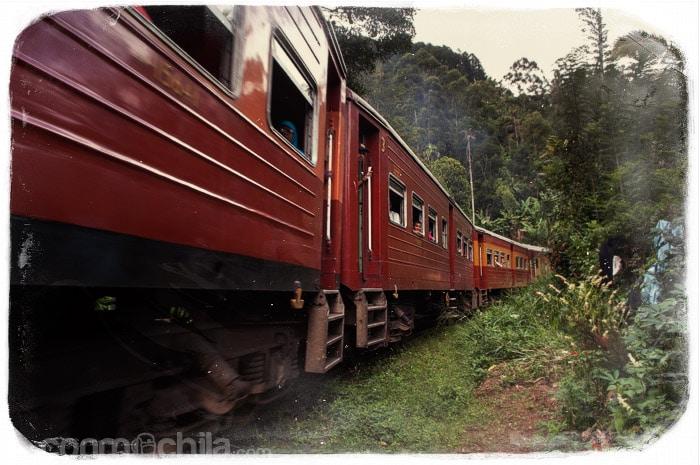 El paso del tren