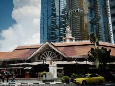Comer barato en Singapur (I): Lau Pa Sat hawker food