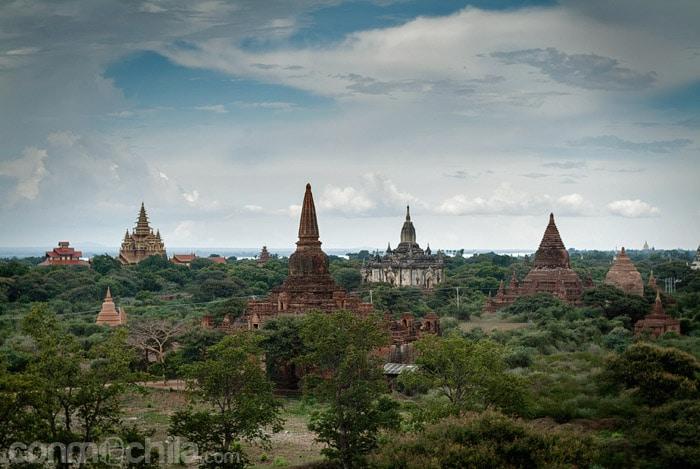Los templos de Bagan
