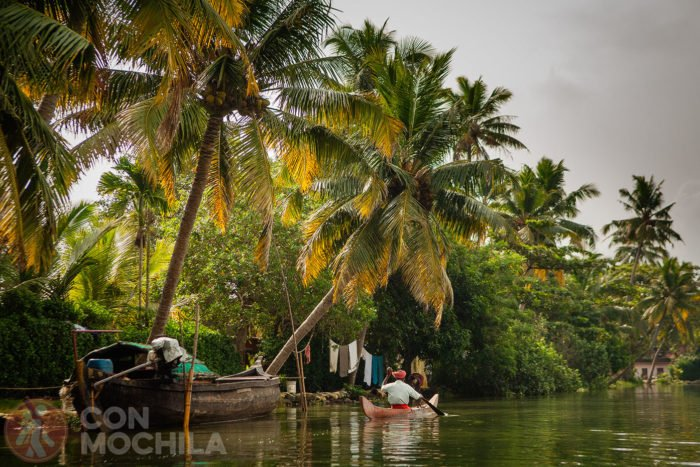 Los backwaters de Kerala