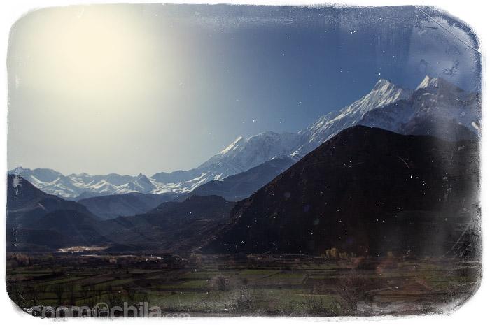 Uno de los impresionantes paisajes