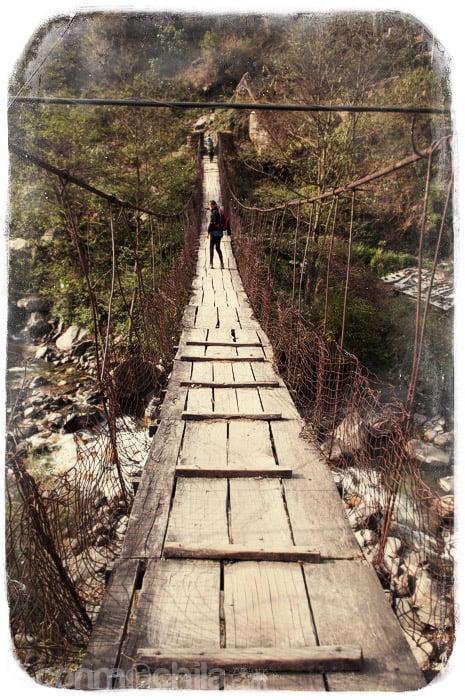 ¿Os gusta el puente?