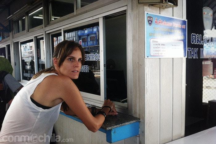 Oficina de entradas en Tailandia