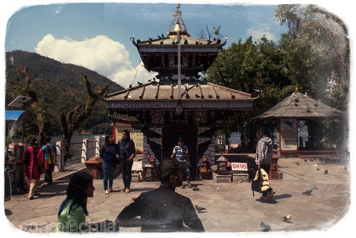 El templo del lago