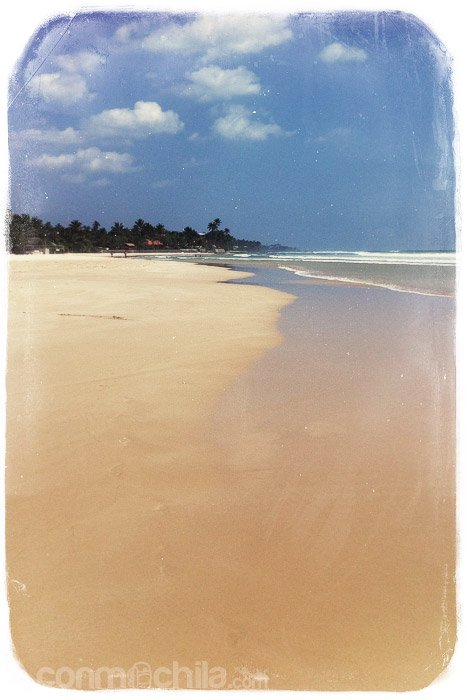 Toda la playa para nosotros