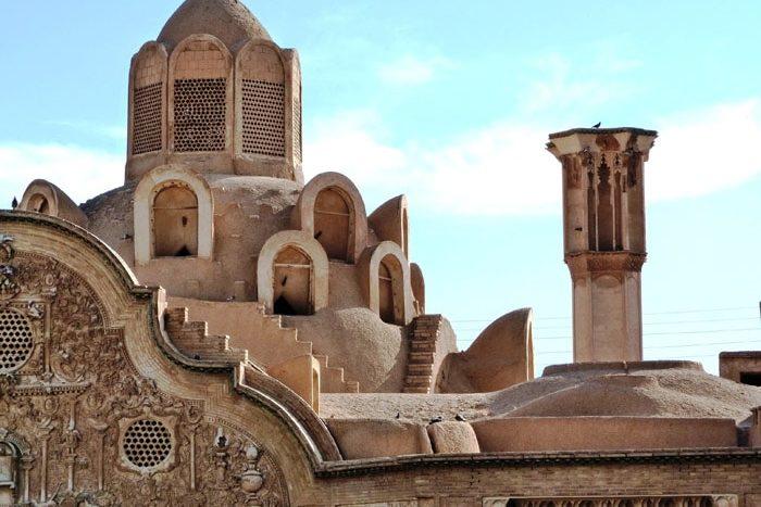 Kashan, casa tradicional de Borujerdi (torres ventilación
