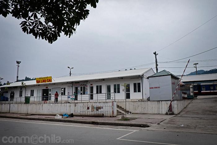 Estación de trenes de Lao Cai