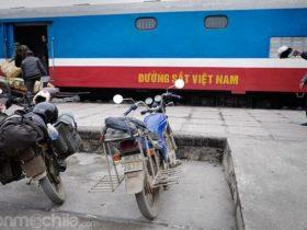 """Nuestra """"KM0'"""" esperando a ser montada en el tren"""