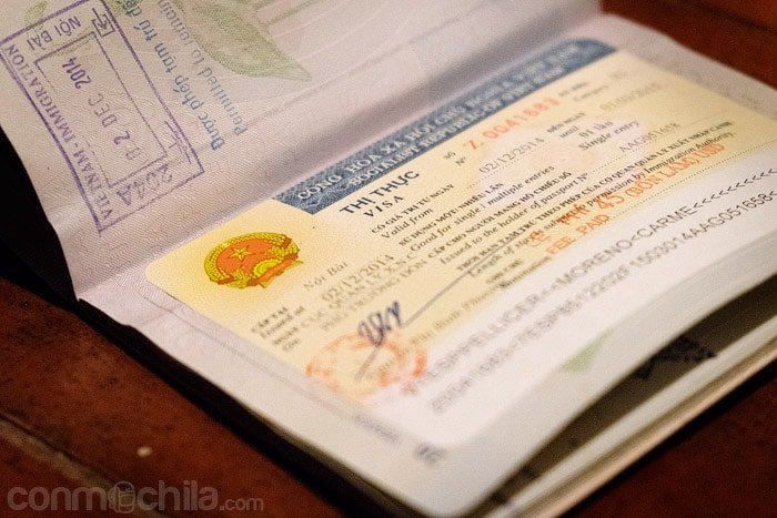 Visado de Vietnam con carta de invitación para 3 meses